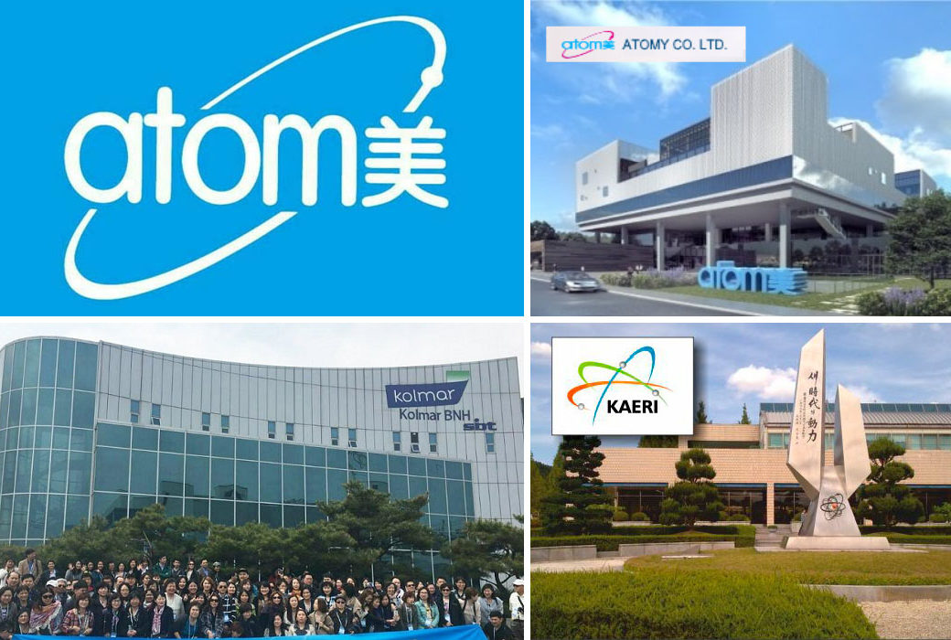 ABOUT ATOMY - Company History